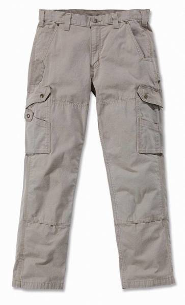 COTTON RIPSTOP PANT BEŻOWY