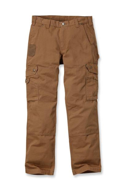 COTTON RIPSTOP PANT BRĄZOWY