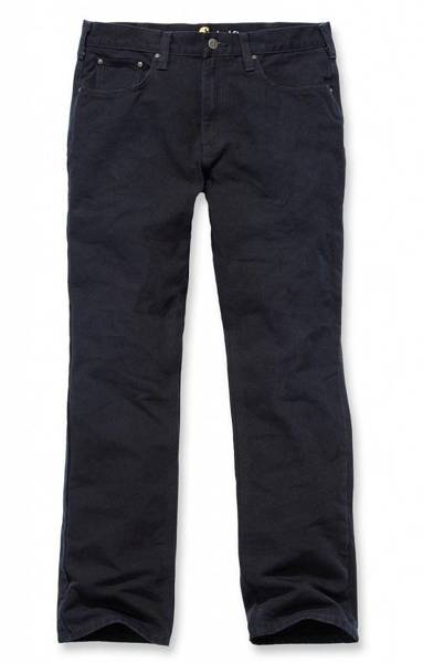 WEATHERED DUCK 5 POCKET PANT  BLACK